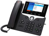 Cisco 8861 IP Phone with Multiplatform Firmware - Charcoal